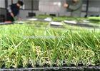 Custom Residential Artificial Turf / Artificial Grass For Flat Roof 35mm Pile Height