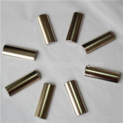 arc shape neodymium magnets for stepper motor