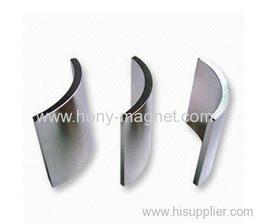 wind driven generator magnetic arc for motor
