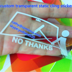 static cling removable window decals