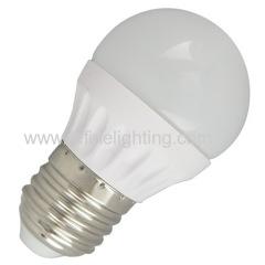 3W 4W 5W 6W LED global bulb G45 280lm/380lm/450lm/520lm PC alu. body E27