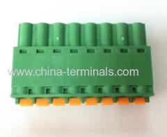 PCB screw terminal block connector