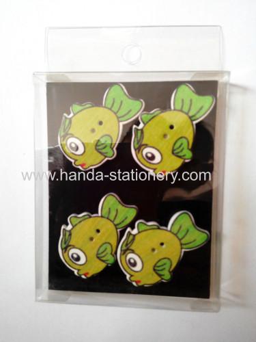 creative fridge magnet,wooden fridge magnet,memo clip