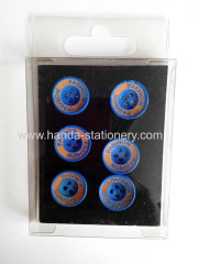 hot salecreative various button shape magnet