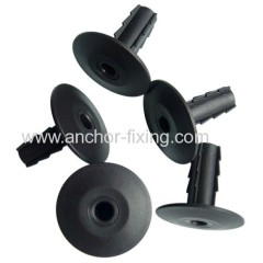 Black Coaxial Cable Wall Protectoer Grommet In Black