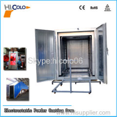 Electric Drying oven for powder coating
