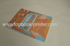 Spot UV coating book cover softbound book