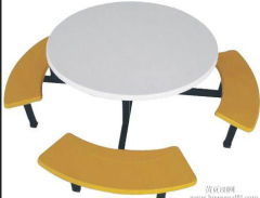 Factory Direct Manufactory Round Dinning Table for 8 person of School Canteen Dining Table