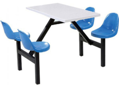 school dining table and chair , college canteen table