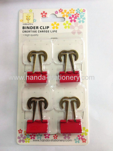 color mustache clip, with logo printing,different kinds paper clips