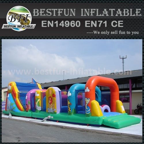 Extreme Slide Obstacle Course