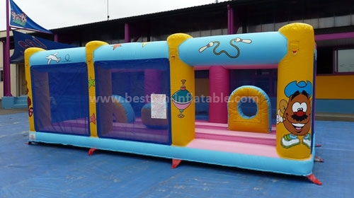 Funny inflatable amusement park bounce