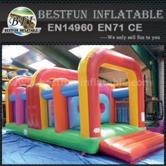 Challenge inflatable obstacle course