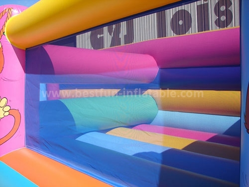 Inflatable obstacle for amusement fun land park