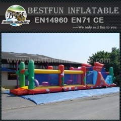 Inflatable Wacky Obstacle Course