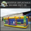 Inflatable safari bounce castle inflatable amusement zoo park