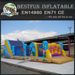 Inflatable Climbing Castle Obstacle Course