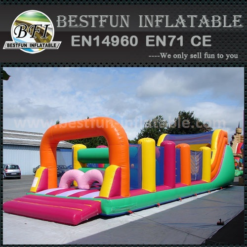 Deluxe backyard obstacle course