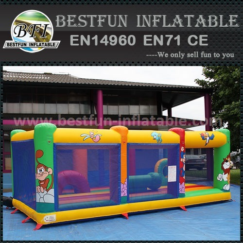 Outdoor giant inflatable fun city