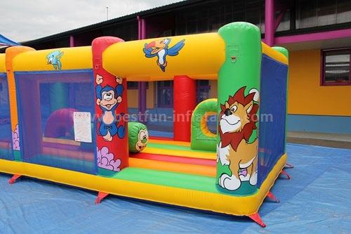 Outdoor Amusement Park Inflatable Bouncer Fun Land