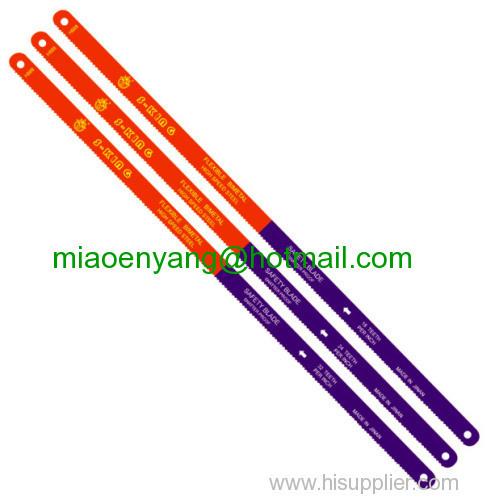 flexible resilience bimetal hacksaw blade