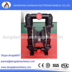 Pneumatic diaphragm working principle