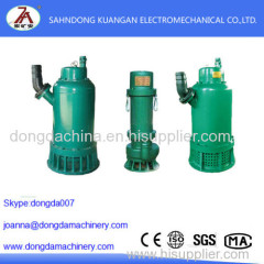 Mining flameproof submersible sand pump Working principle