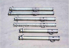 Suspension single hydraulic prop from underground coal mining