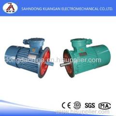 China YBB series mining flameproof three-phase asynchronous motor