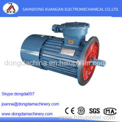 High Quality YBB series mining flameproof three-phase asynchronous motor