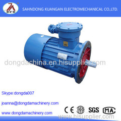 DSB (YBS) series explosion-proof motor basic parameters