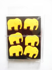 Funny plastic elephant shape toys,Hot Sale DIY plastic Magnet Child Toy