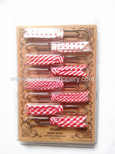 Handmade lovely ribbon bow hair clips for beautiful girl