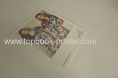 iridescent foil stamp cover clothing manual softback book