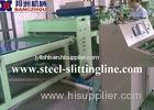 Metal Cut To Length Machines For Steel Coil , 3mm Thick And 1600mm Width