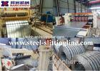 Hydraulic Steel Slitting Line For Coil Sheet , White 15MT Coil Weight