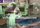 Stainless 1600mm Steel Cut To Length Line 58 - 60 HRC For Straightening / Cutting
