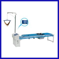 new design electric lumbar vertebra traction bed