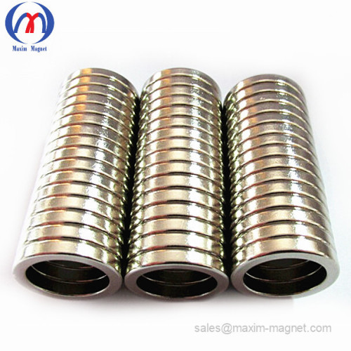 Custom Ring NdFeB/Neodymium Magnets of good quality