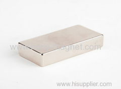 High gauss N52 neodymium block magnet