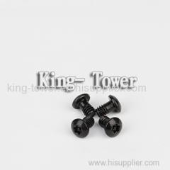 2015 hot sale stanless steel cylinder head black combination screw