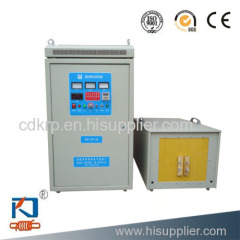 new condition low price induction foundry machine