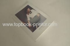 Backless FSC coperchio di carta ruvida stagnola bollo copertina morbida stampa di libri sulle richieste