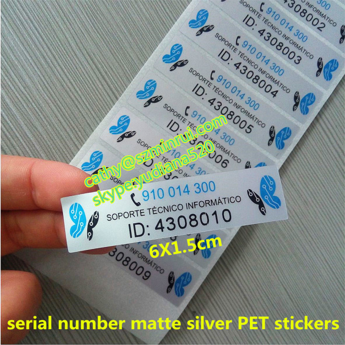 Custom Design Your Private Label Sticker From China