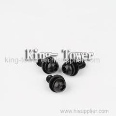 good quality black knurled thumb screw