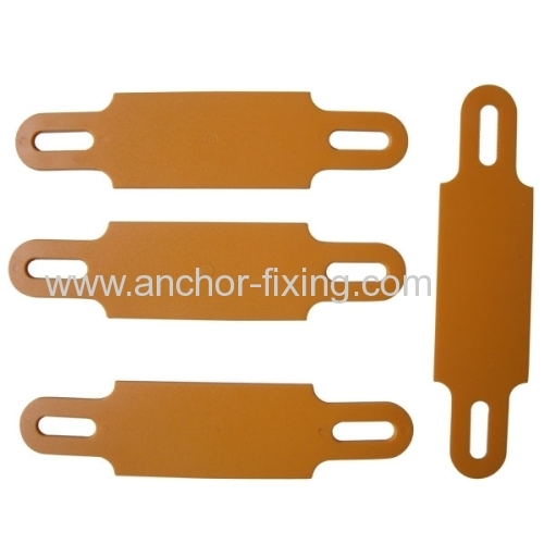 Coaxial Cable Labels : Pvc orange coaxial cable marker label to tie up and mark