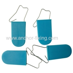 Bule Etb Cable Lock Wire Hasp Blue