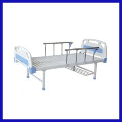 Manual flat used hospital bed