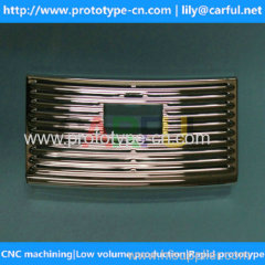 precision engineering cnc machined spare parts with small volume