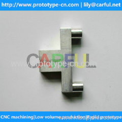 China aluminum 6061-T6 CNC machining according to drawings with small order